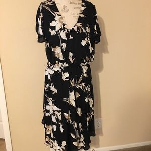 Brand New Merona Black Floral Dress